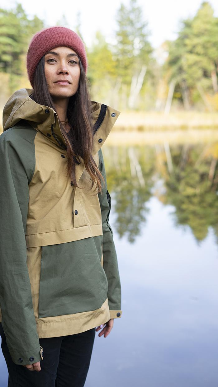 natural biodegradable jacket outerwear fashion sustainable bicircular environmental circular clothing women girl