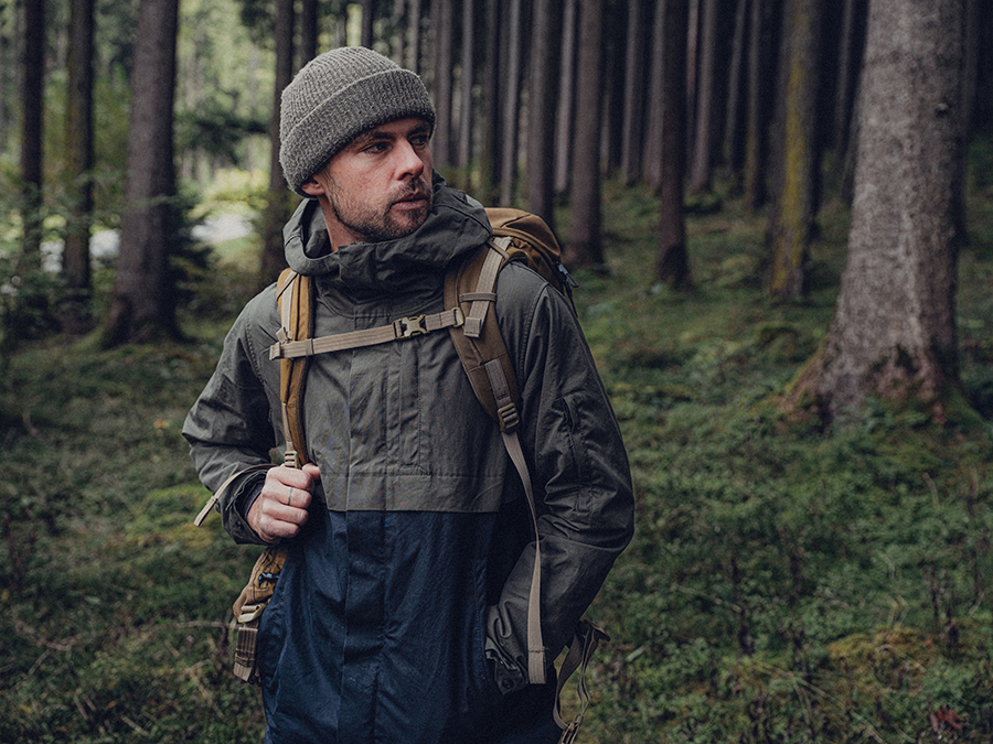 natural biodegradable jacket outerwear fashion sustainable clothing