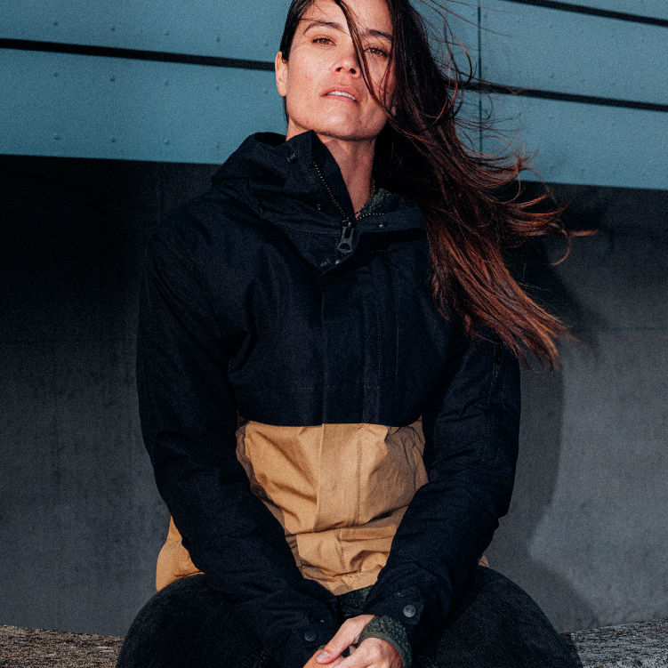 Outerwear Jacket River natural biodegradable jacket outerwear fashion sustainable bicircular environmental circular clothing