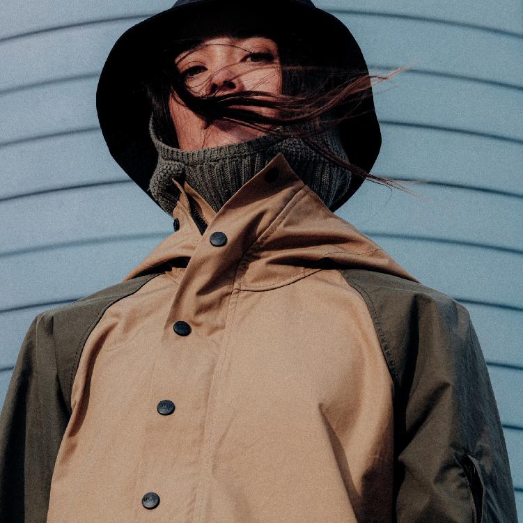 Outerwear Pull-Over Anorak Jacket Birch